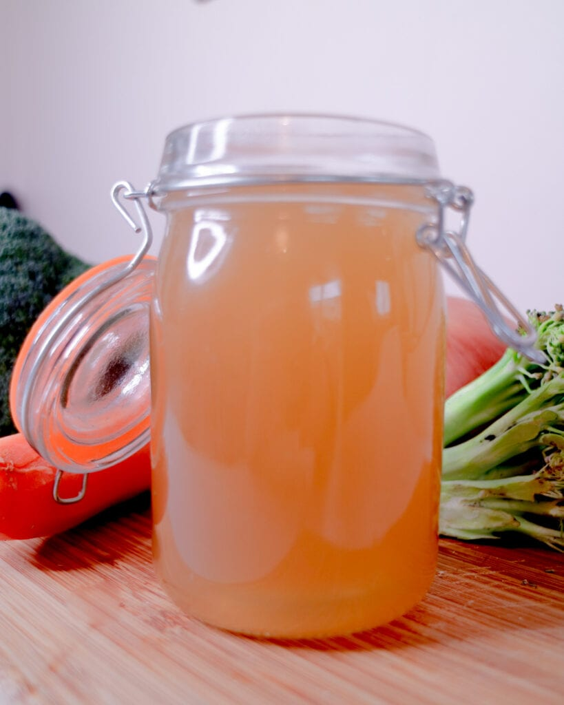 Left Over Vegetable Stock