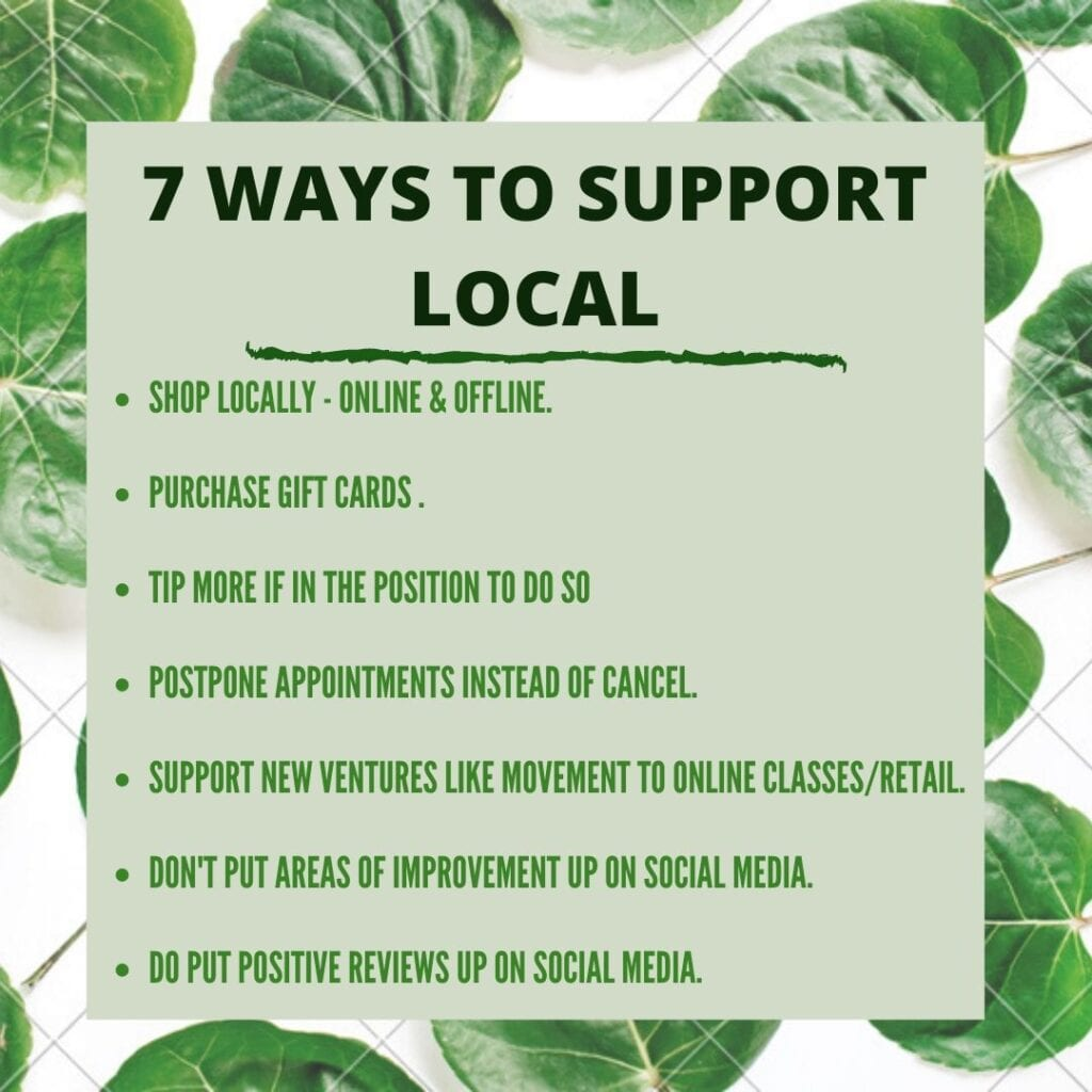 How to live sustainably - 7 ways to support local