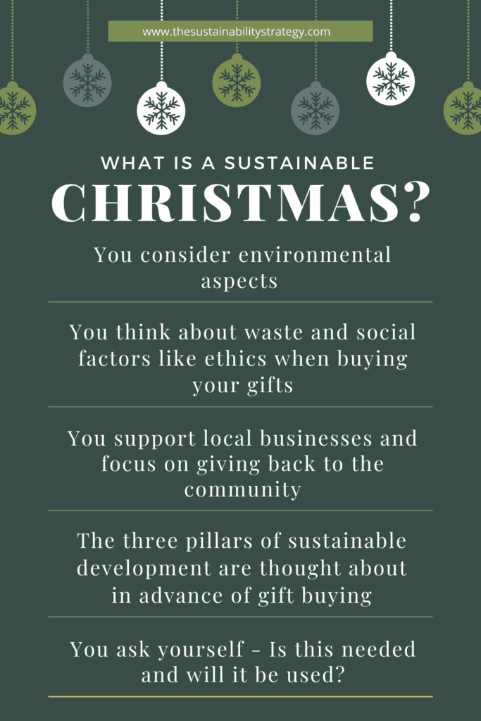 What is a Sustainable Christmas