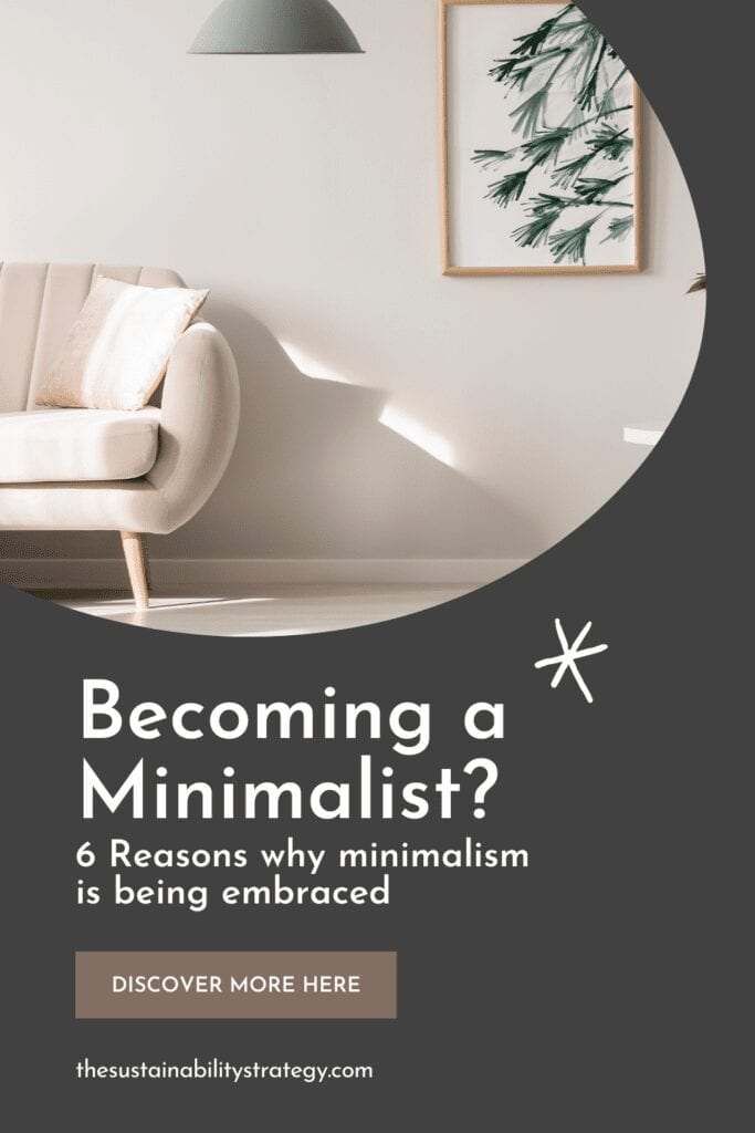 Becoming Minimalist 6 reasons why and how